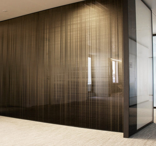 Nexity head office mural panels – Paris