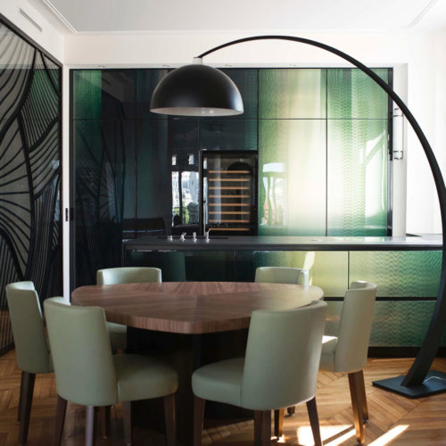 Apartment av. Rapp kitchen panels – Paris